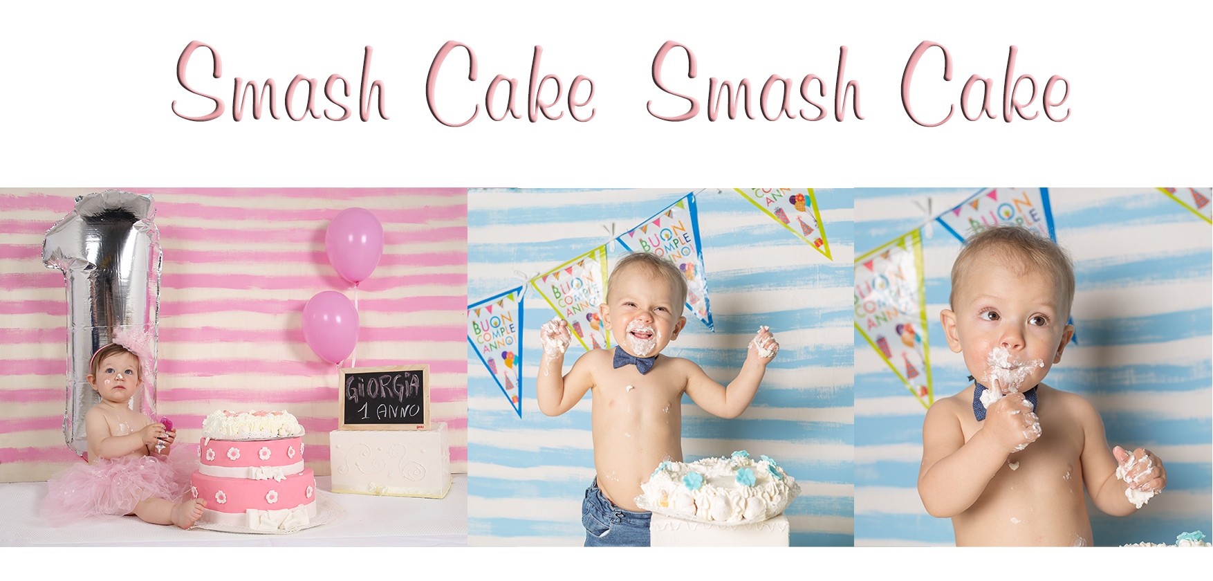 servizio fotografico primo compleanno-smash cake-cossato(BIELLA)